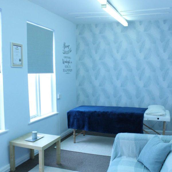 Blue Sky Reflexology Treatment room
